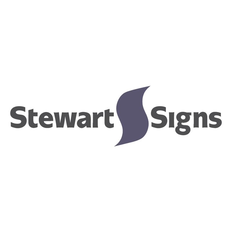Stewart Signs vector
