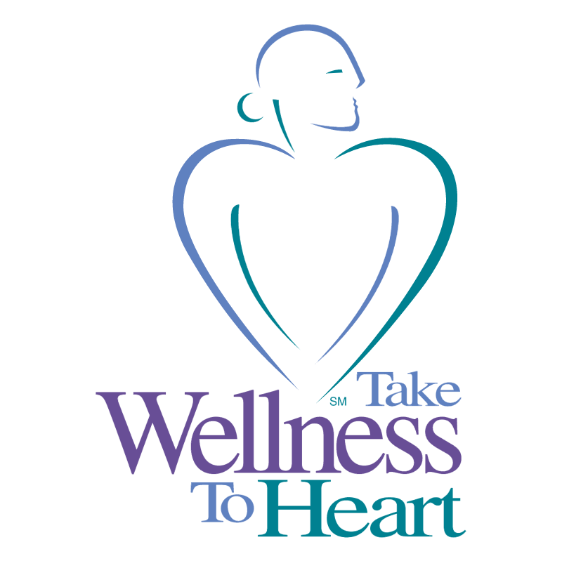 Take Wellness To Heart vector