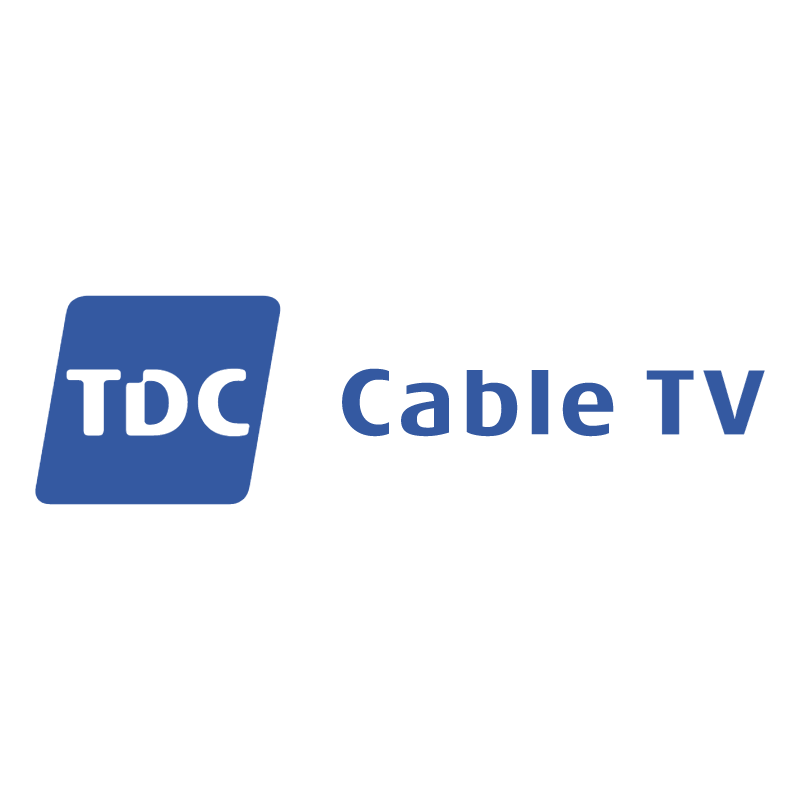 TDC Cable TV vector