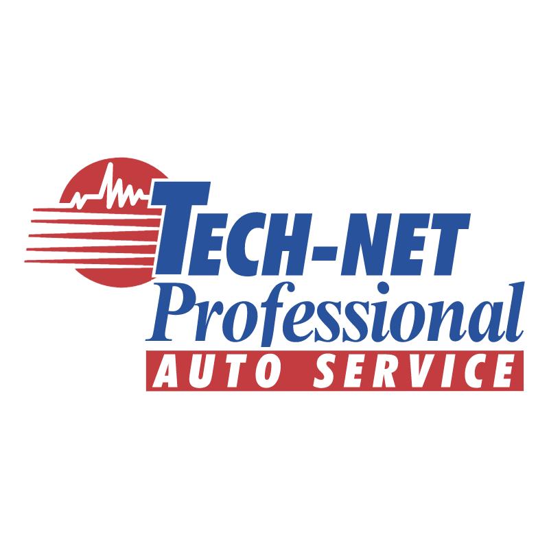 Tech Net Professional Auto Service vector