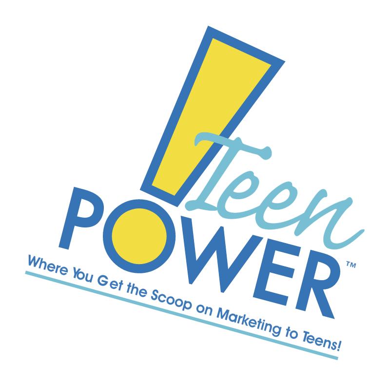 Teen Power vector
