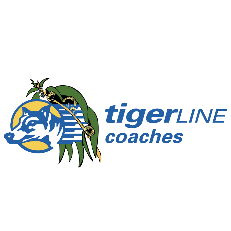 TigerLine Coaches vector