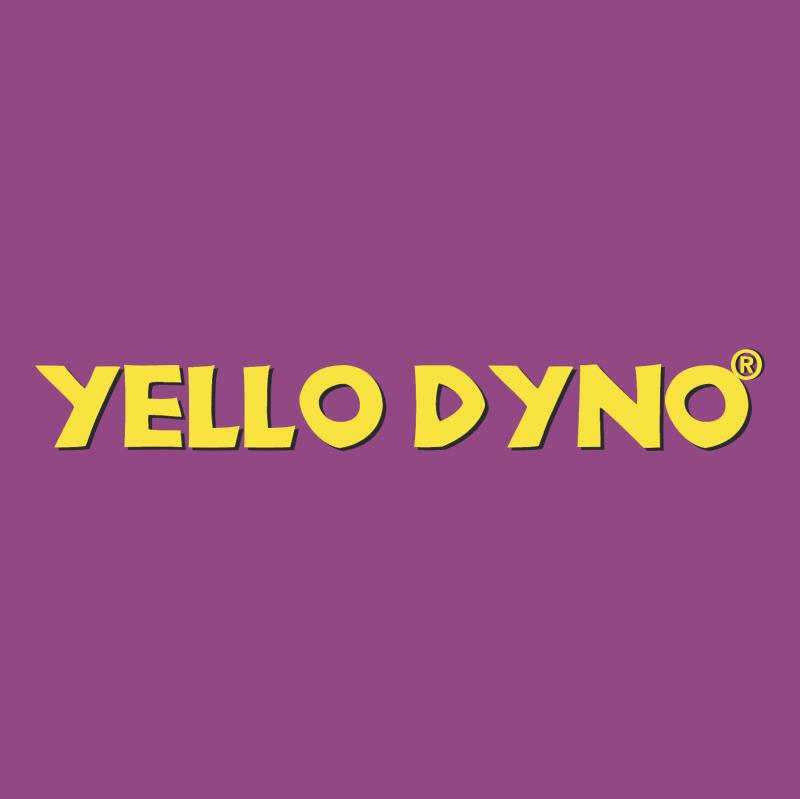 Yello Dyno vector logo