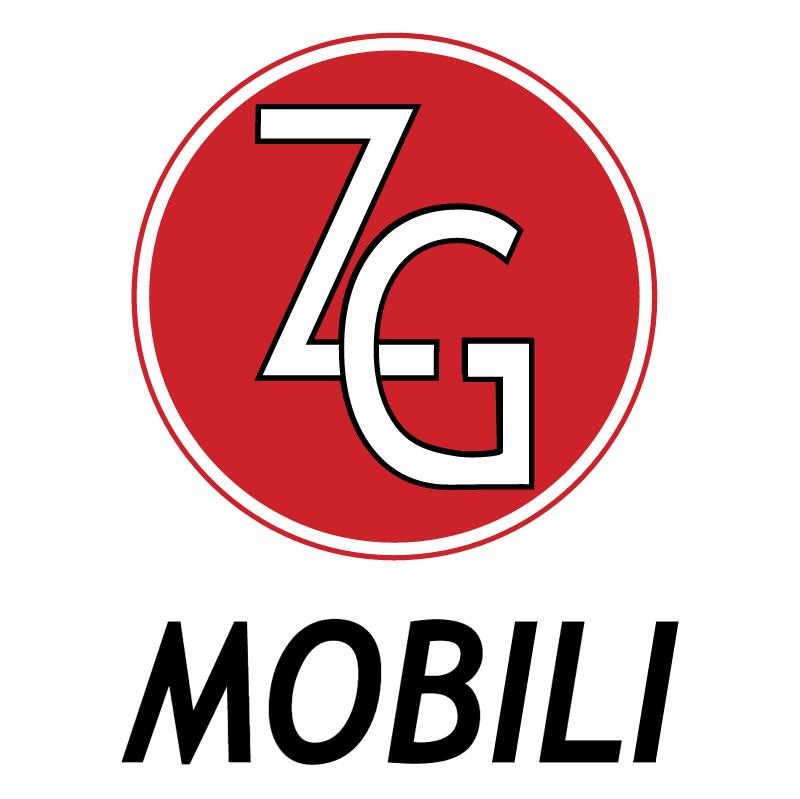 ZG Mobili vector logo