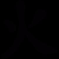 Japanese Kanji vector