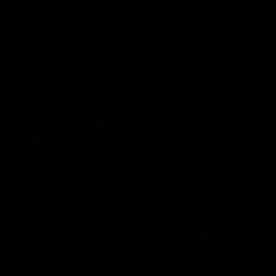 Bottle opener vector logo