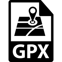 GPX file format variant vector
