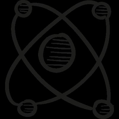 Atomic Sign vector logo