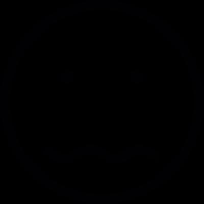 Confused vector logo