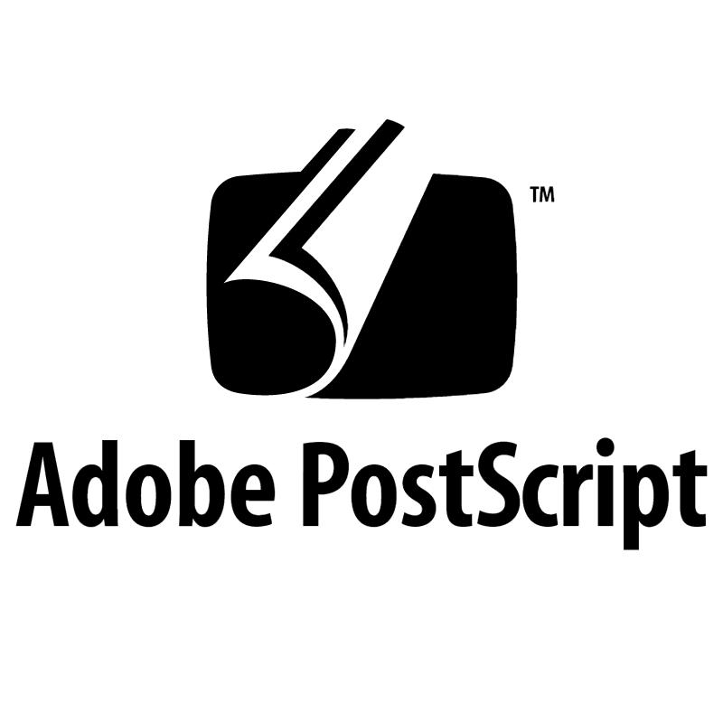 Adobe Postscript vector logo