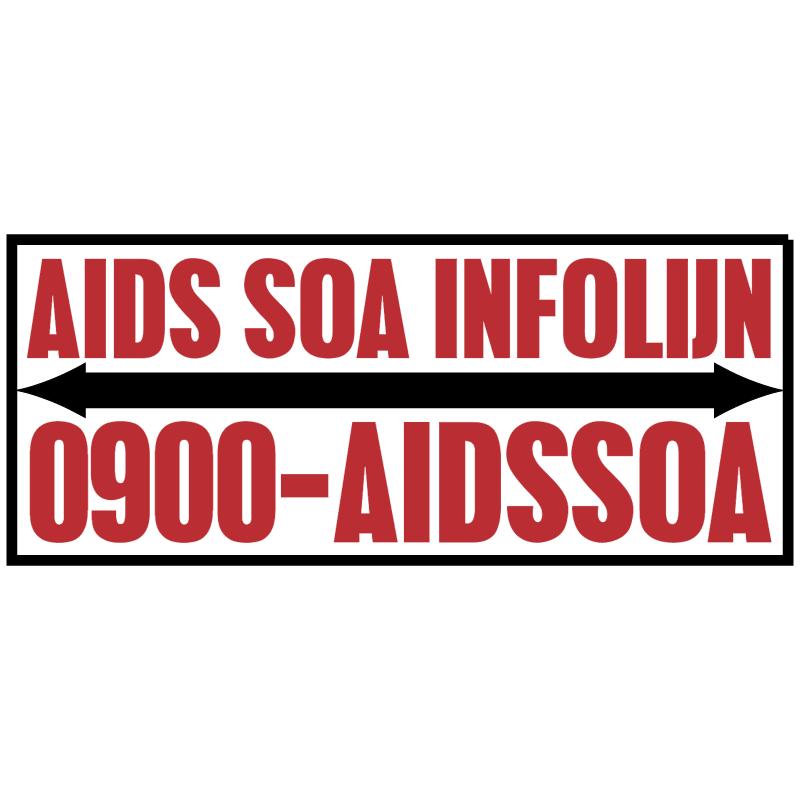 AIDS SOA Infolijn vector