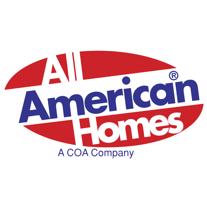 All American Homes vector