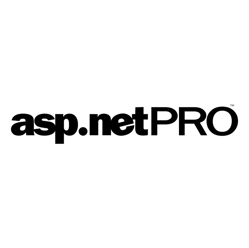 asp netPRO vector