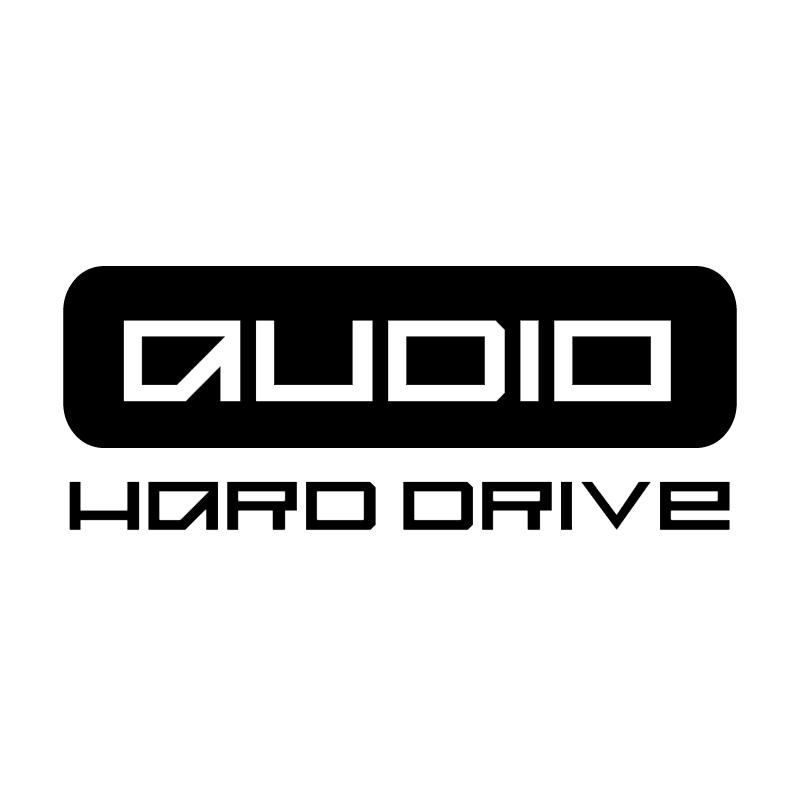 Audio Hard Drive vector
