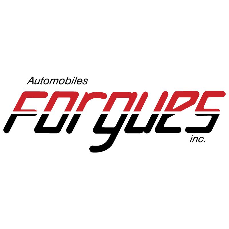 Automobiles Forgues vector