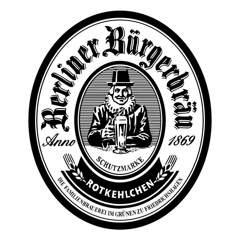 Berliner Burgerbrau vector