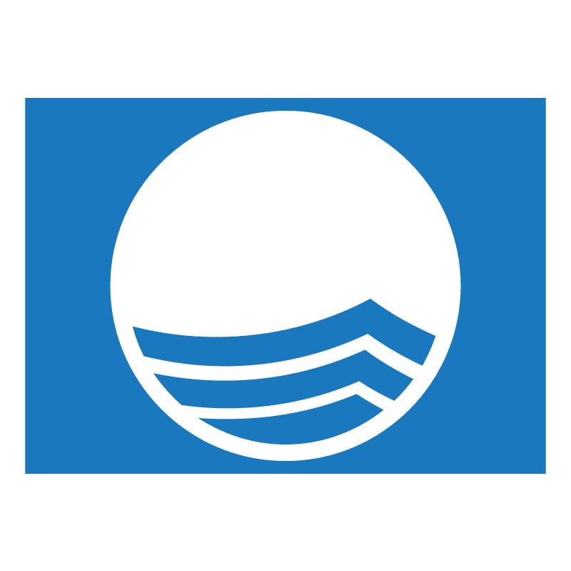 Blue Flag vector
