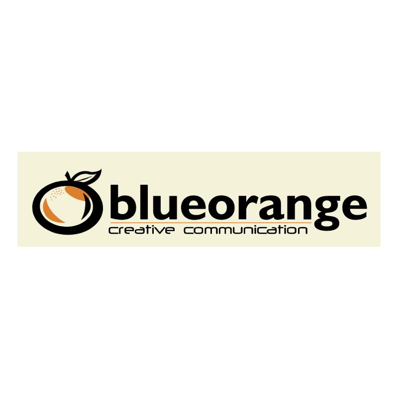 Blue Orange Creative Communication 70938 vector
