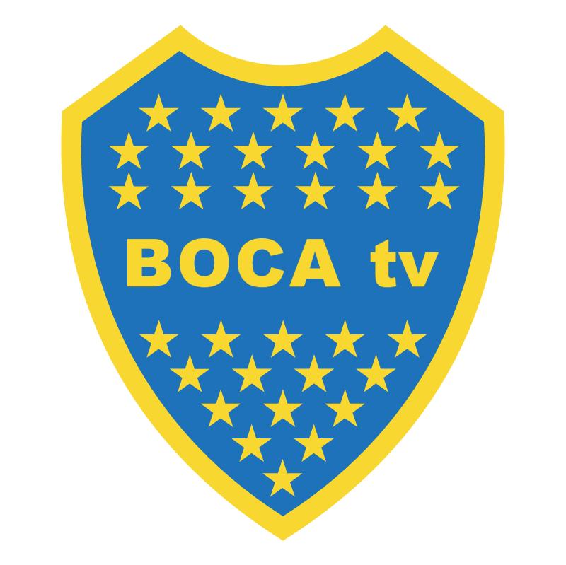 Boca TV vector