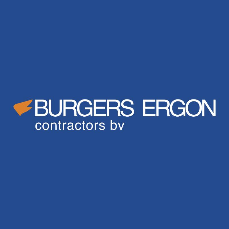 Burgers Ergon Contractors 53024 vector