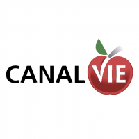Canal Vie vector