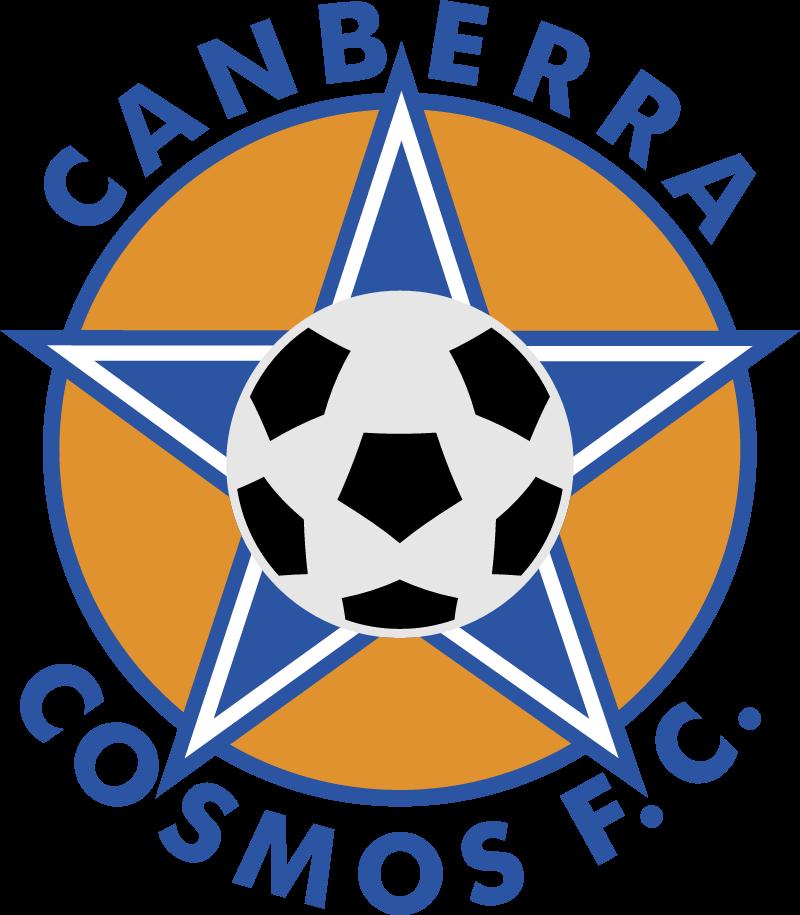Canberra Cosmos vector logo