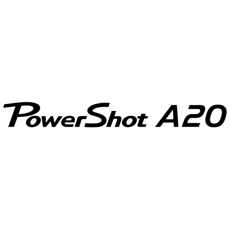 Canon Powershot A20 vector logo