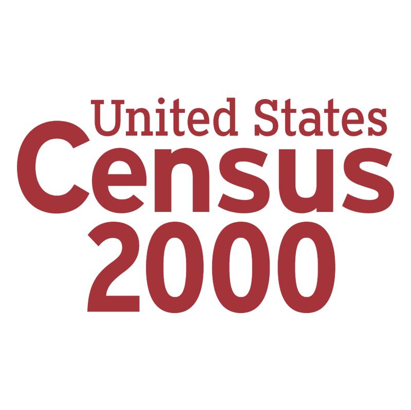 Census 2000 vector logo