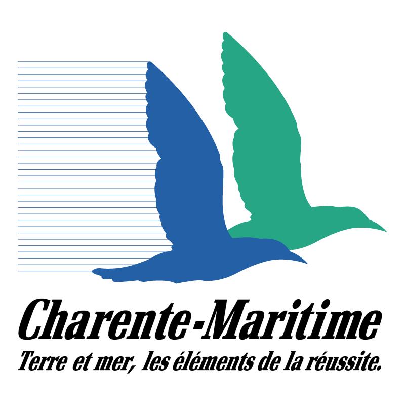 Charente Maritime Region vector