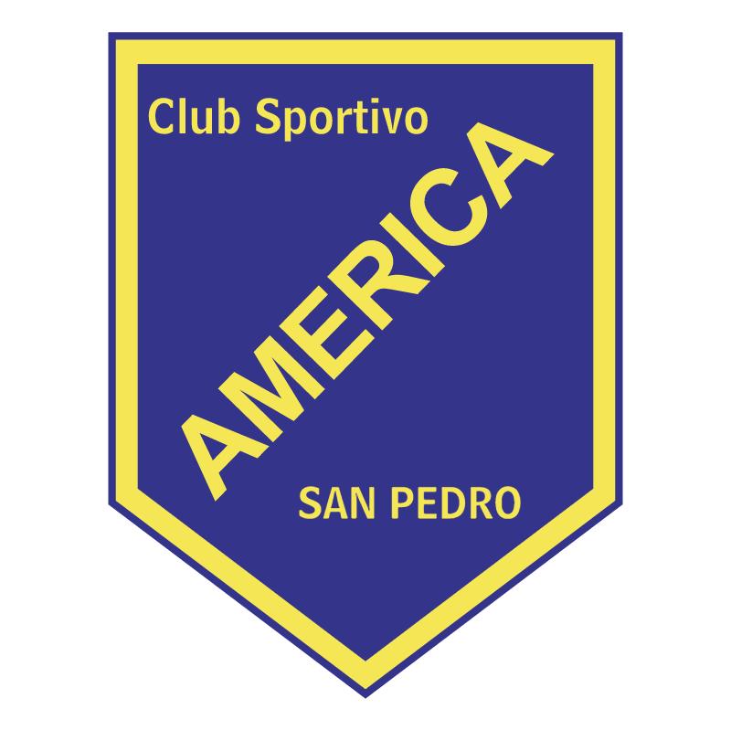 Club Sportivo America de San Pedro vector