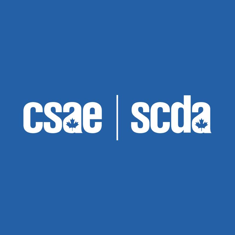 CSAE SCDA vector logo
