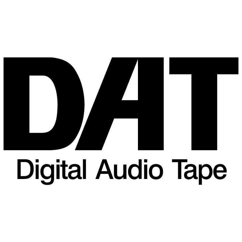 DAT vector logo