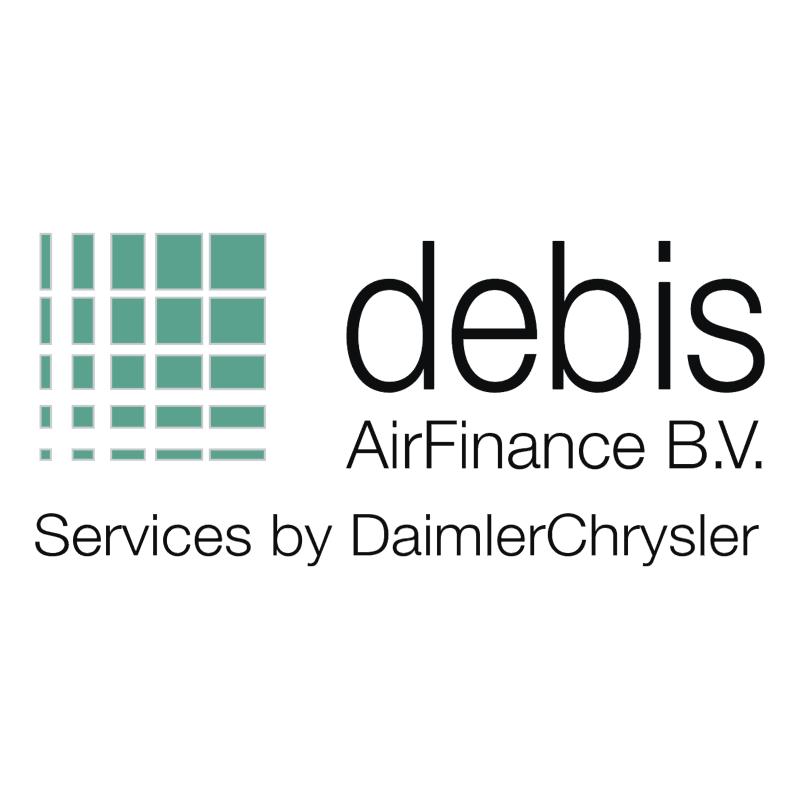 Debis AirFinance vector logo