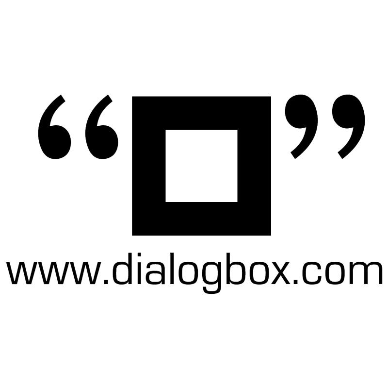 Dialogbox vector
