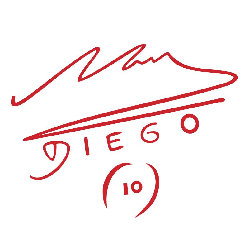 Diego Maradona vector