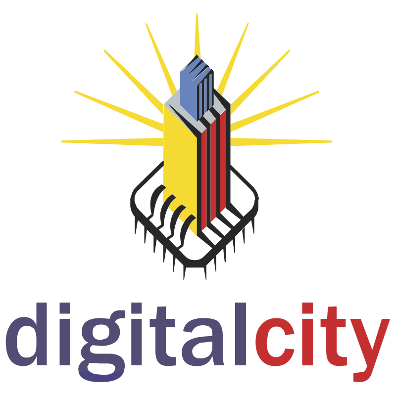 Digital City vector