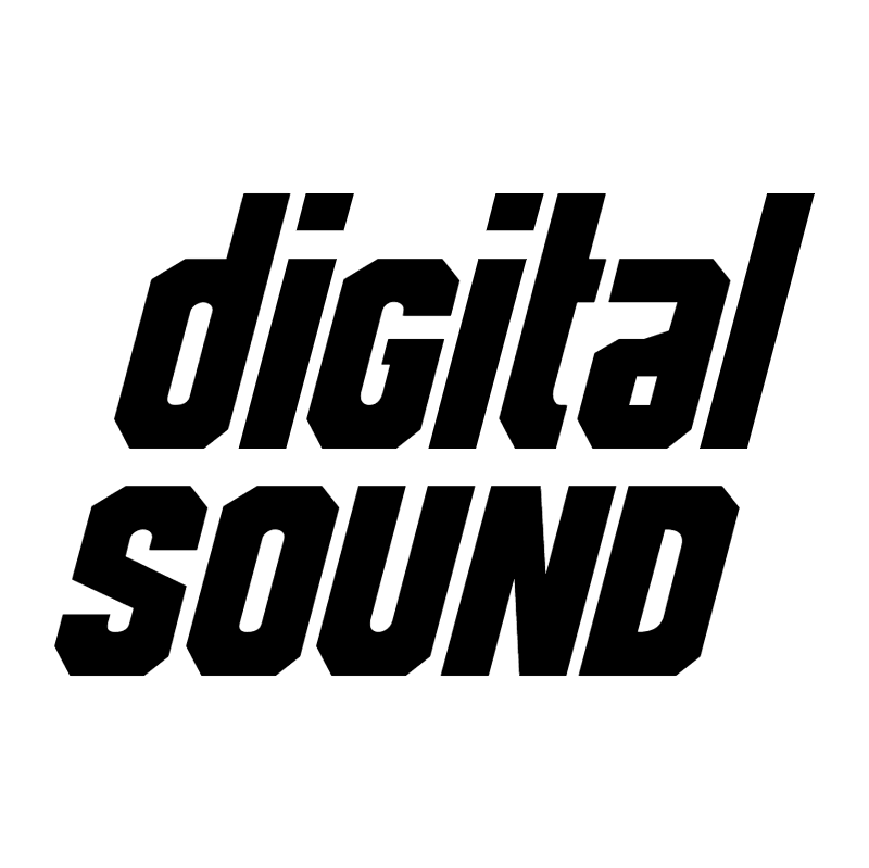 Digital Sound vector