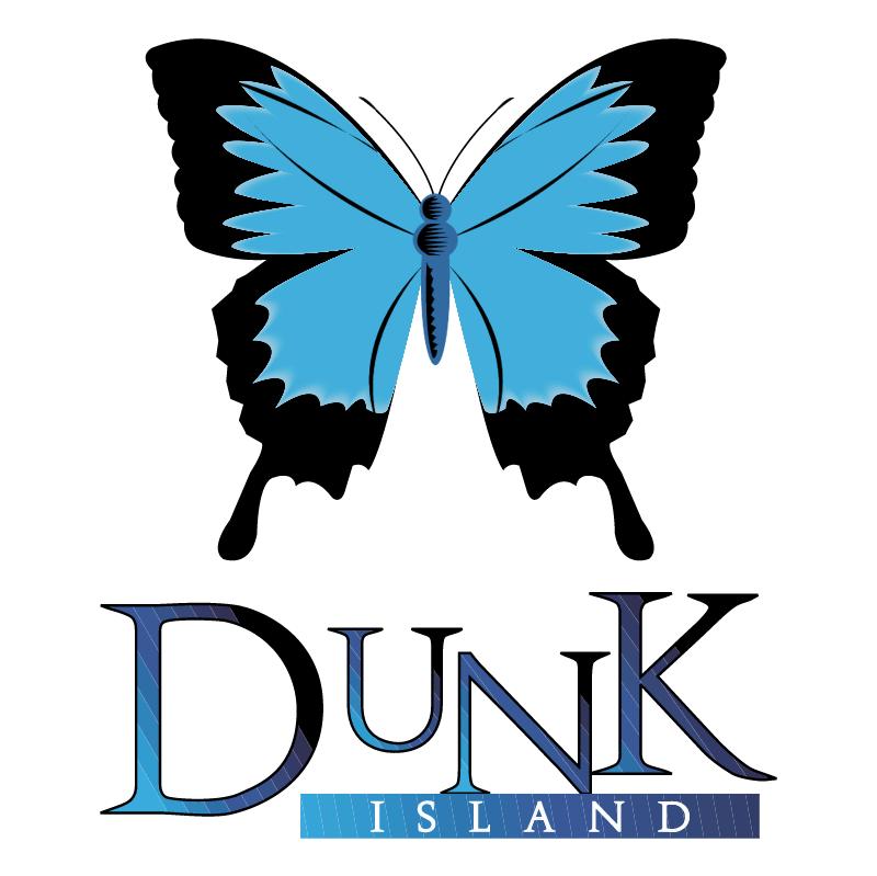 Dunk Island vector logo