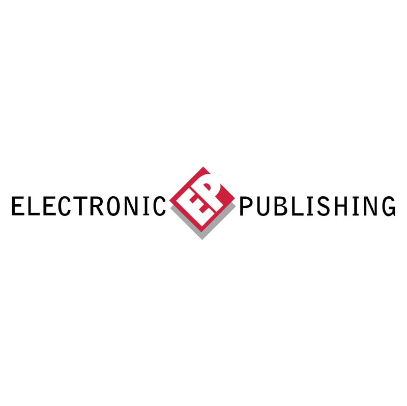Electronic Publishing vector logo