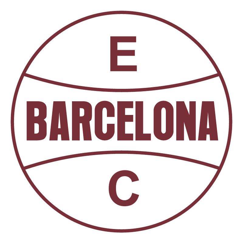 Esporte Clube Barcelona de Sapiranga RS vector
