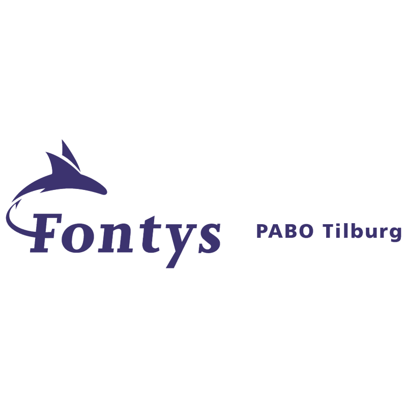 Fontys PABO Tilburg vector logo