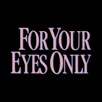 For Your Eyes Only vector