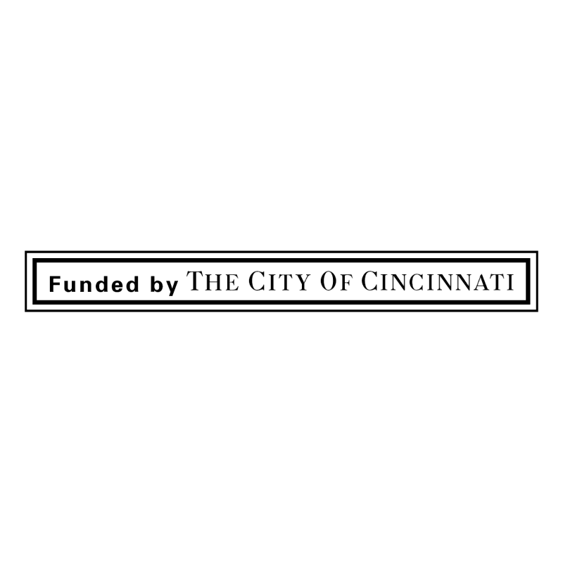 Founded by The City Of Cincinnati vector