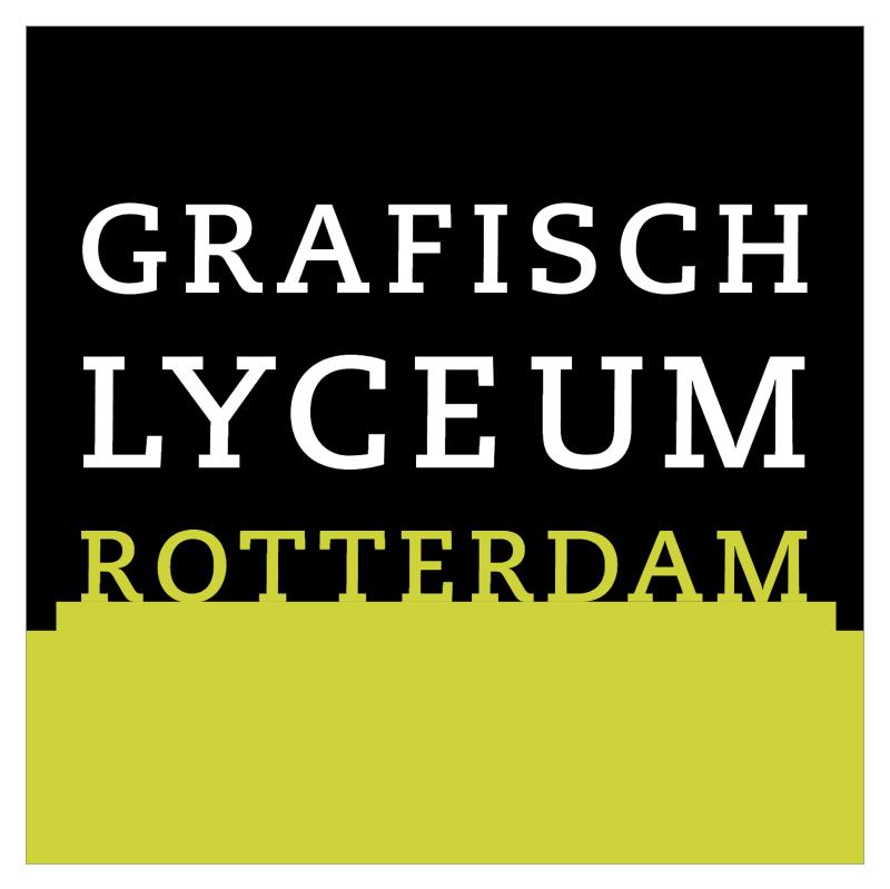 Grafisch Lyceum Rotterdam vector