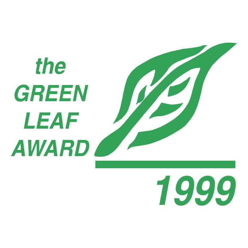 Green Leaf Award vector
