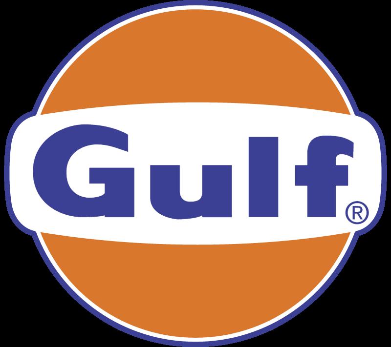 GULF OIL 1 vector