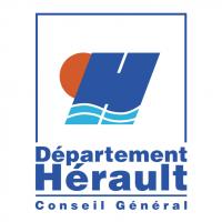 Herault Departement Conseil General vector