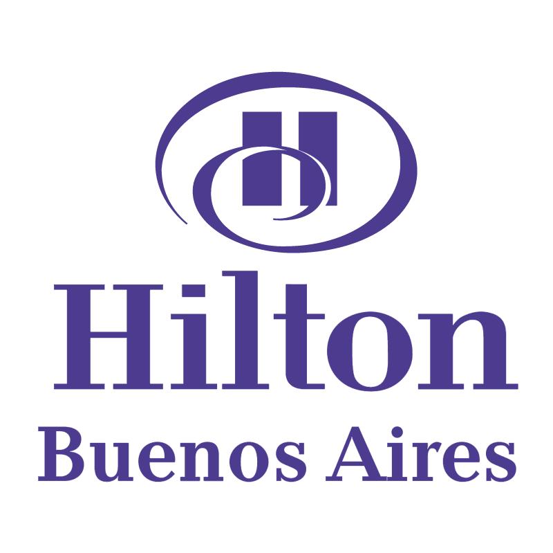Hilton Buenos Aires vector