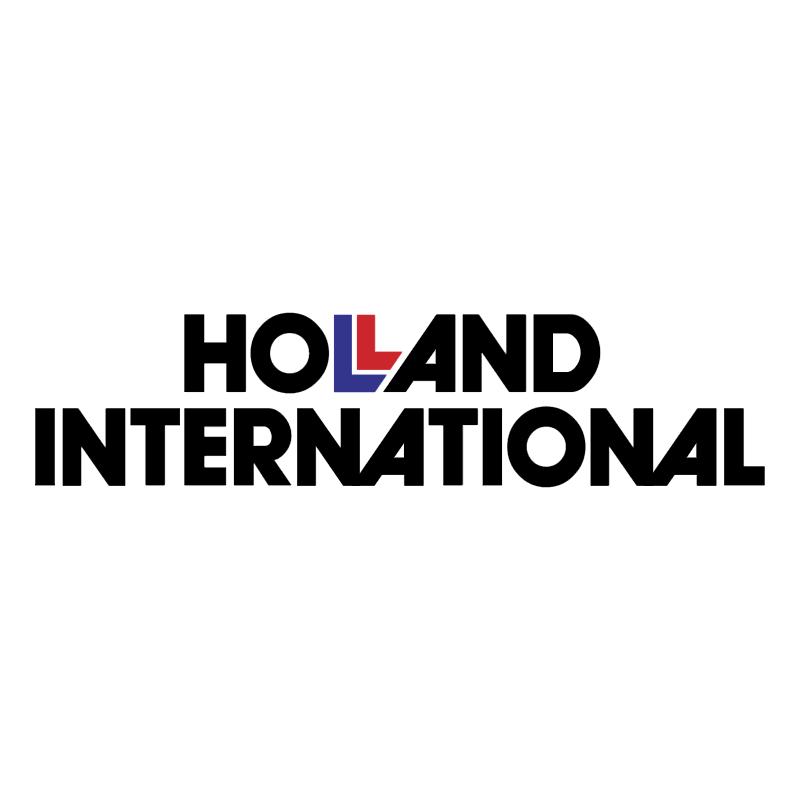 Holland International vector logo
