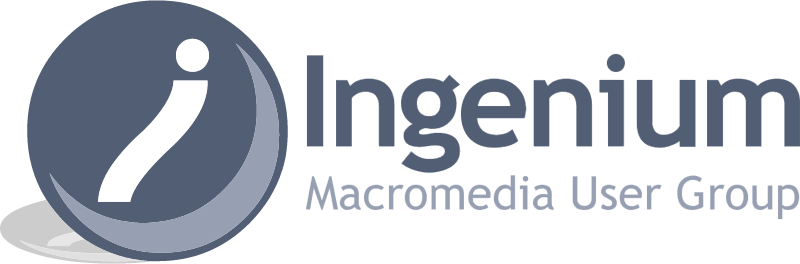 Ingenium Macromedia User Group vector